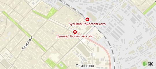 Метро Бульвар Рокоссовского Магазины